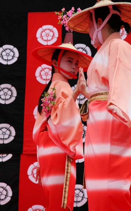 京都 随心院のはねず踊り_c0196076_23194327.jpg