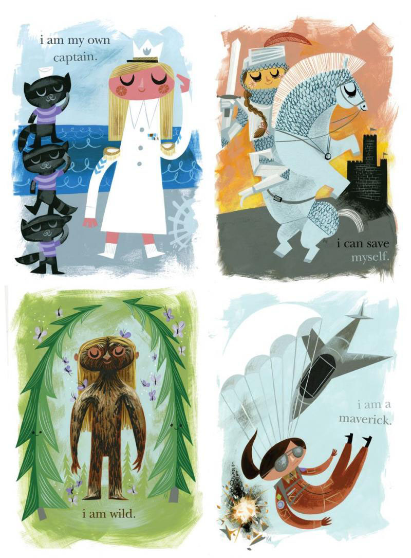 Posters for Girls (set of 4) by Amanda Visell_c0155077_1249638.jpg