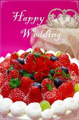 * wedding  cake *_c0220186_15595017.jpg