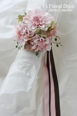 桜をいれたフラワーアクセサリー アーティフィシャルフラワー_b0113510_21221946.jpg