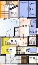 子育て応援賃貸・・・動線_e0154712_16575495.jpg