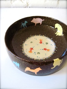 Animal-Go-Round Bowl*_a0110515_12114296.jpg