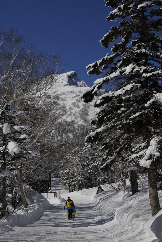 2011年3月 春、深雪の大雪山に抱かれる_c0219616_1854219.jpg