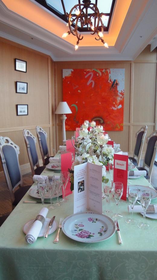 めくるめくベル・エポックの華麗なる宴@ル・コントワール・ド・ブノワ_f0215324_1444891.jpg