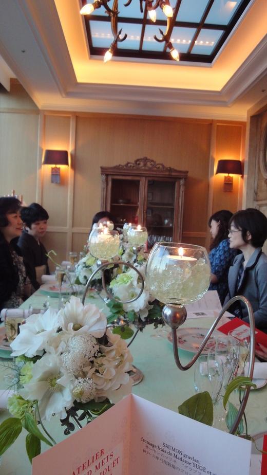 めくるめくベル・エポックの華麗なる宴@ル・コントワール・ド・ブノワ_f0215324_14544734.jpg