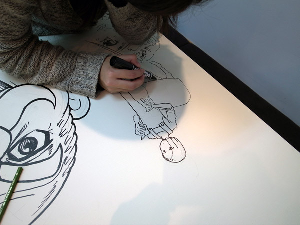 キャンバス日誌、『竜の学校は山の上』九井諒子さん編。_c0048265_13511178.jpg