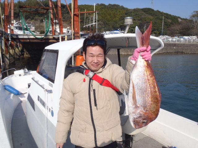 3月30日の釣果 桜鯛_a0077071_18511526.jpg