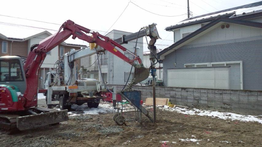 S様邸「広面川崎の家」地盤改良終了_f0150893_18245042.jpg