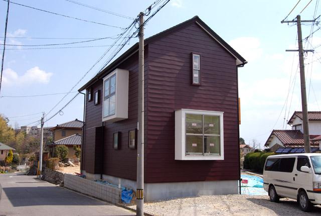 「津市・Y邸」外観がほぼ完成しました_a0152040_23515997.jpg