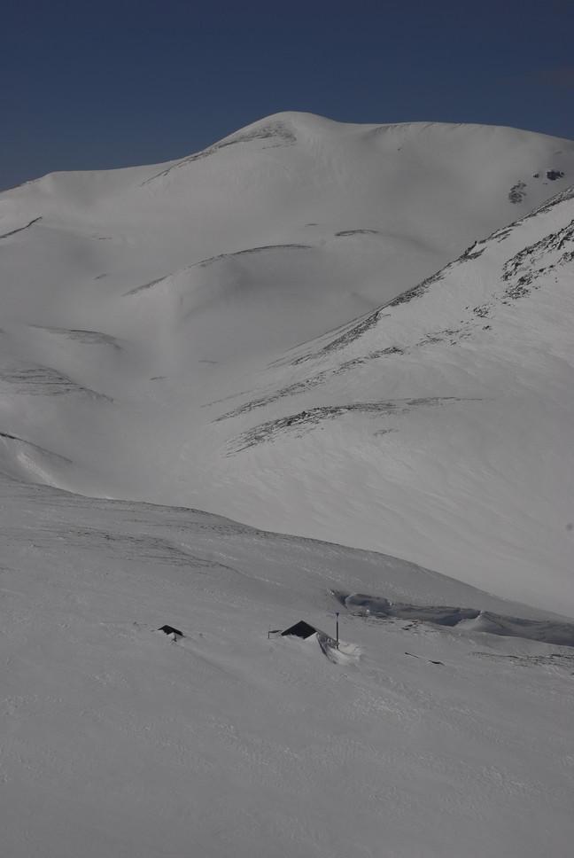 2011年3月 春、深雪の大雪山に抱かれる_c0219616_19262226.jpg