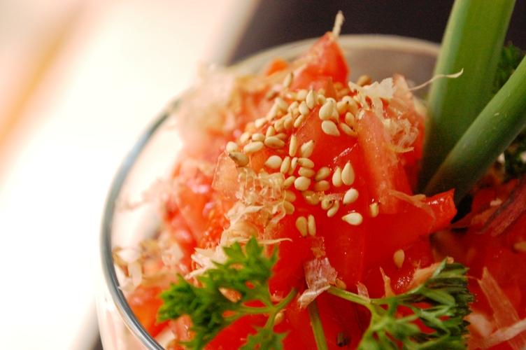 豆腐とトマトのヘルシーパフェ_d0104926_55212.jpg
