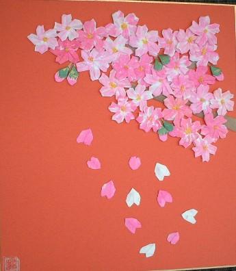 簡単 折り紙 桜 花びら 折り紙 : ori23.exblog.jp