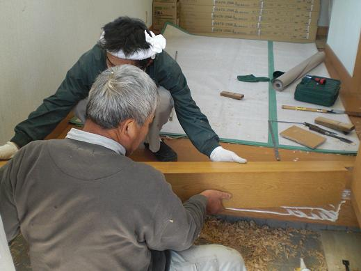 快適な床暖房 ~ 玄関の上がり框(かまち)_d0165368_8181421.jpg