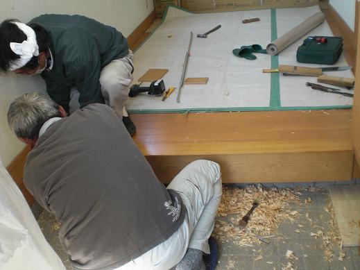 快適な床暖房 ~ 玄関の上がり框(かまち)_d0165368_8182955.jpg