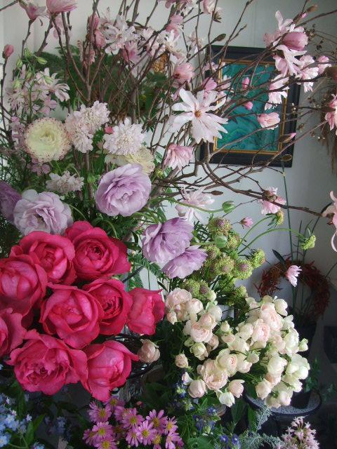 オークリーフ(淡いピンクのシデコブシのある風景)_f0049672_1821183.jpg