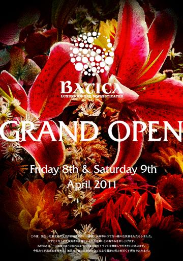 "4/9(sat) \""-Batica × jazzy sport presents- Grand open party second day\""@恵比寿Batica _e0153779_16142247.jpg"