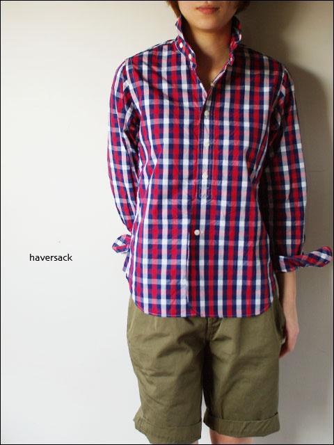 Haver Sack [ハバーサック]ブロックチェックシャツ [621110] LADY\'S_f0051306_16553592.jpg