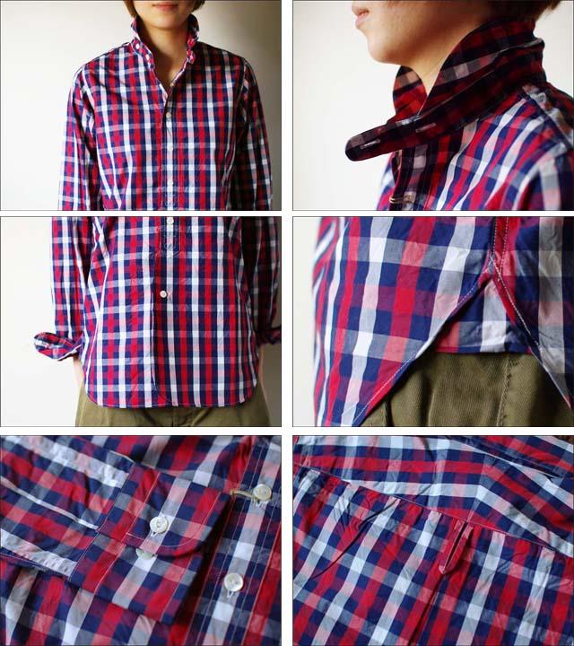 Haver Sack [ハバーサック]ブロックチェックシャツ [621110] LADY\'S_f0051306_16553681.jpg