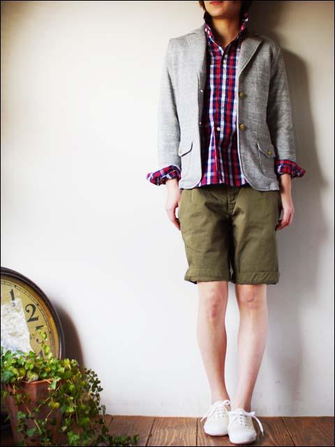 Haver Sack [ハバーサック]ブロックチェックシャツ [621110] LADY\'S_f0051306_16553751.jpg