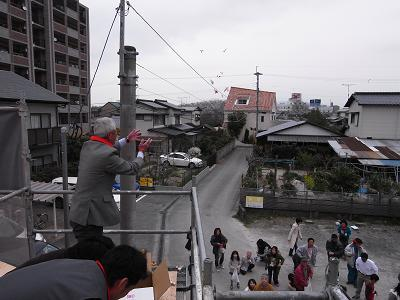 那珂川町で上棟!!_c0079640_17444111.jpg