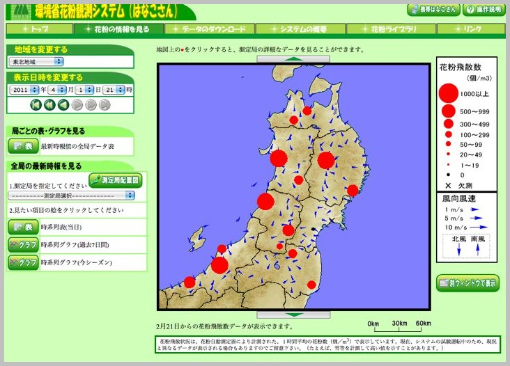 スギ花粉〜今年の傾向〜 _e0084756_0453353.jpg