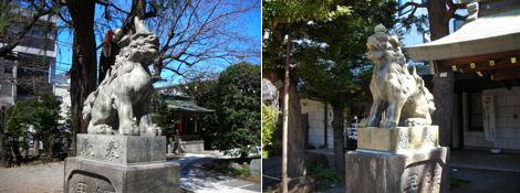 神社と狛犬その14・青山熊野神社_d0183174_8251268.jpg