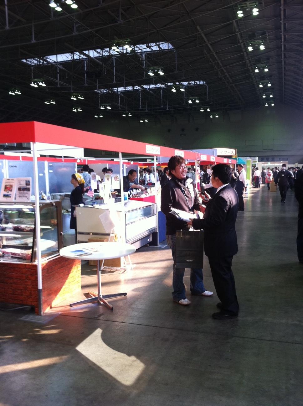 食品展示会に行ってきました。_d0225603_16192518.jpg