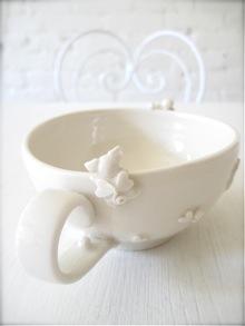 ぶた天使のティーカップ*_a0110515_9433295.jpg
