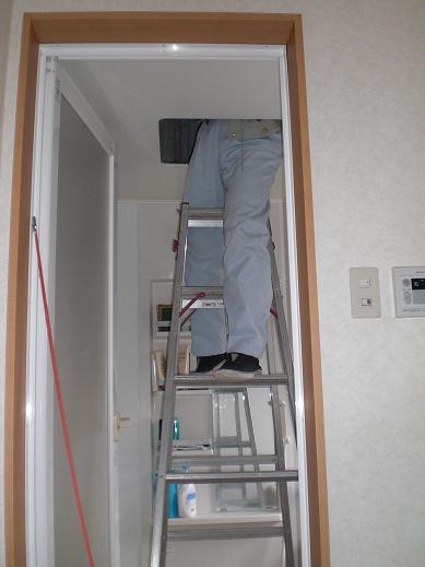 快適な床暖房 ~ 1階の電気工事―その②_d0165368_510615.jpg