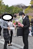 大学 卒業式☆_b0110035_16583797.jpg