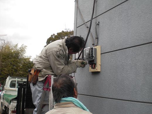 快適な床暖房 ~ 1階の電気工事―その③_d0165368_455156.jpg