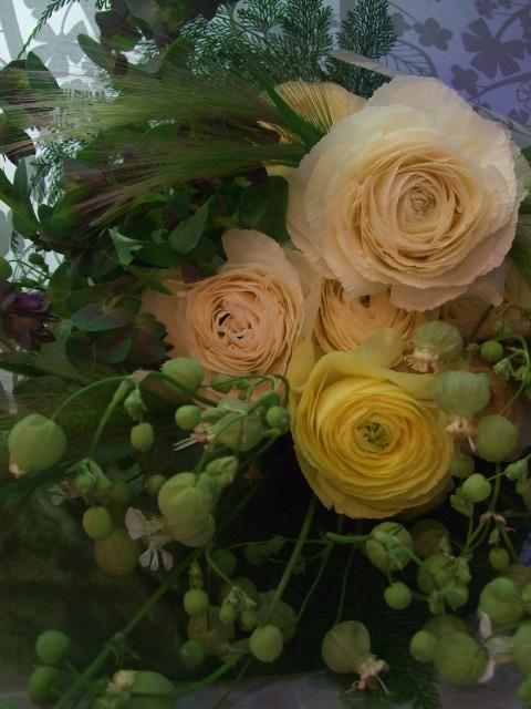 オークリーフ(ナチュラルシックな花束を・・)_f0049672_1343256.jpg