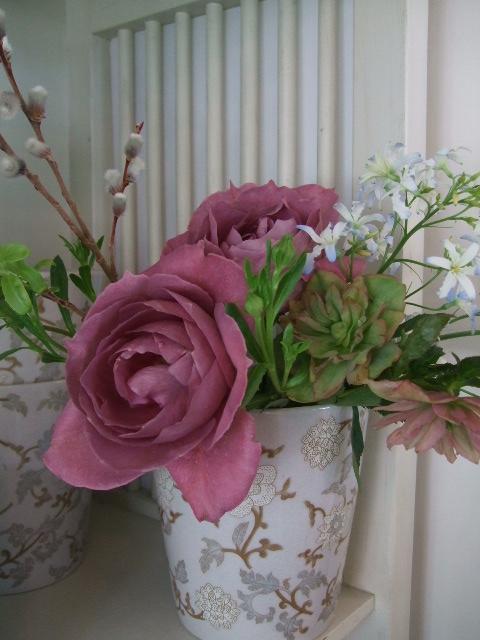 オークリーフ(ナチュラルシックな花束を・・)_f0049672_1355541.jpg
