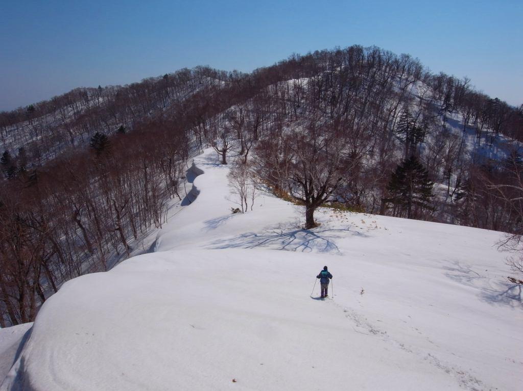 4月5日、丹鳴(になる)岳から稜線歩き-その1-_f0138096_17282923.jpg