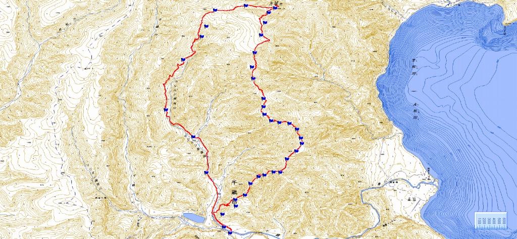 4月5日、丹鳴(になる)岳から稜線歩き-その1-_f0138096_17292039.jpg