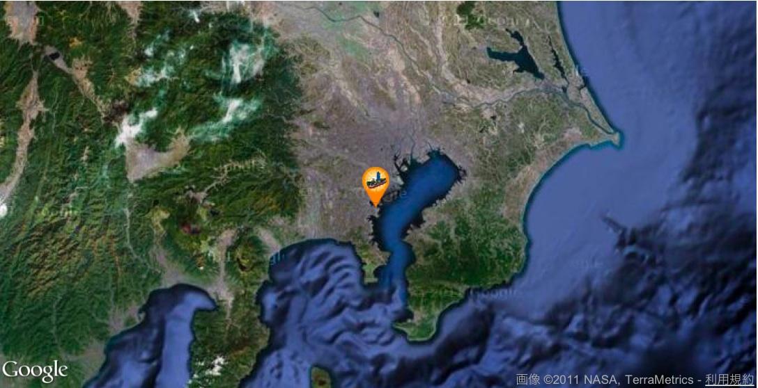 掘削船「ちきゅう」は今ここに:「日本沈没」するまで頑張る謎の船!?_e0171614_21371215.jpg