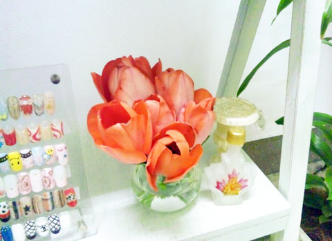 春のお花_e0166340_1443325.jpg