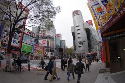 4月7日(木)今日の渋谷109前交差点_b0056983_1152236.jpg
