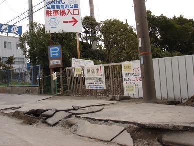 ★地震後の三番瀬とホンビノス★_e0147297_169519.jpg