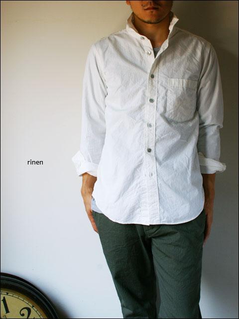 RINEN [リネン] 80/2 ダウンプループレギュラーカラーシャツ [32003] MEN\'S_f0051306_161546.jpg