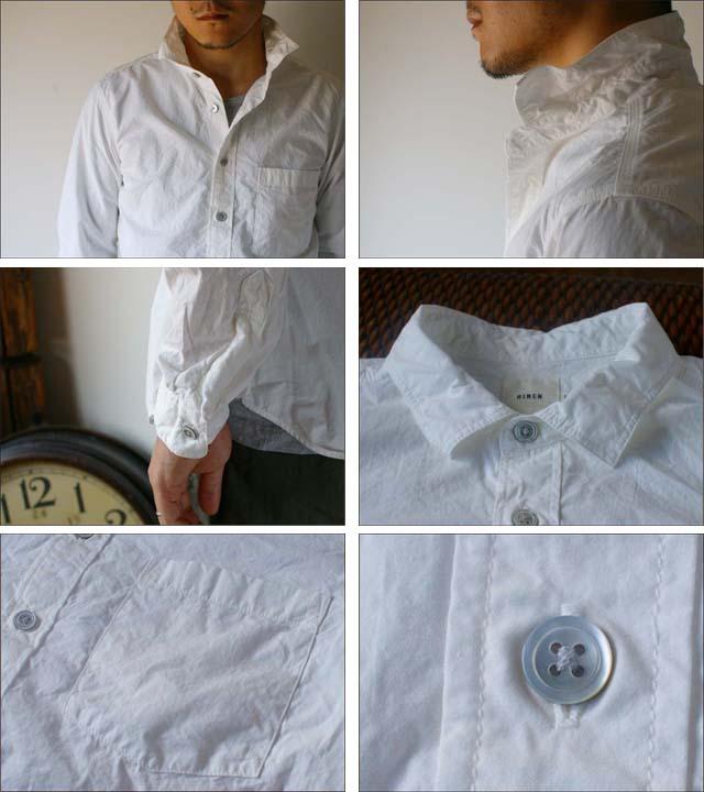 RINEN [リネン] 80/2 ダウンプループレギュラーカラーシャツ [32003] MEN\'S_f0051306_16175.jpg