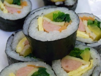 ++翌日の韓国のり巻きの美味しい食べ方++_e0140921_10304282.jpg