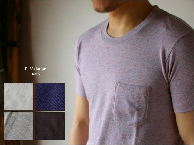 Filmelange[フィルメランジェ] SUNNY [サニー] ポケット無地Tシャツ_f0051306_18593867.jpg