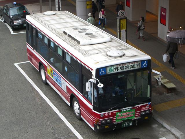 立川バス H711 : 旧路線バス車両 ...