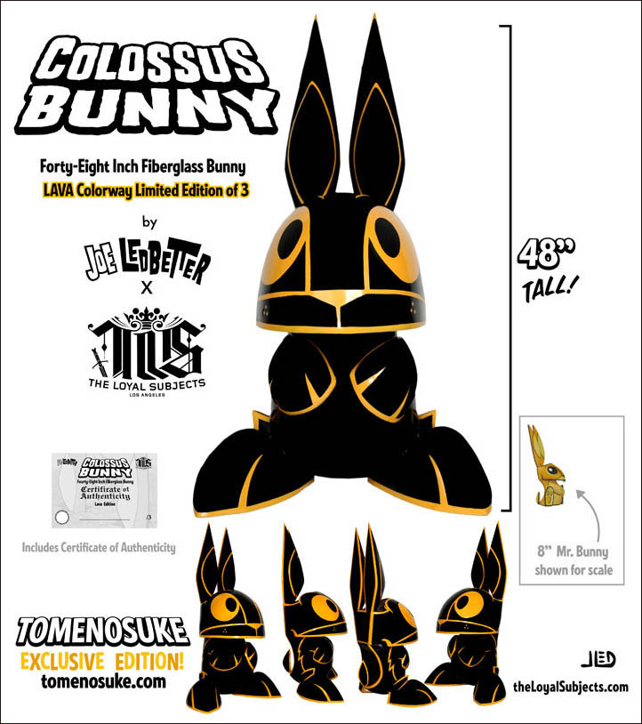 Colossus Bunny Lava Colorway by Joe Ledbetter_e0118156_1243014.jpg