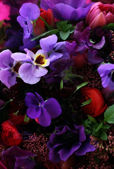 枝パンジーと春の花_f0127281_14202058.jpg