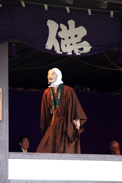 京の花だより 清涼寺 狂言_e0048413_215526.jpg
