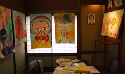 恒例アートイベント「春山登山」、蔵織での作品_d0178448_1005213.jpg