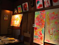 恒例アートイベント「春山登山」、蔵織での作品_d0178448_9354845.jpg