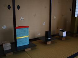 恒例アートイベント「春山登山」、蔵織での作品_d0178448_953235.jpg